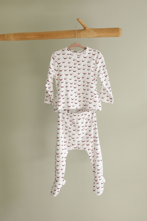 Pyjama bébé Lunettes de star