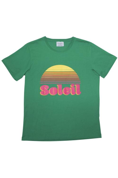 TEE-SHIRT SOLEIL VERT
