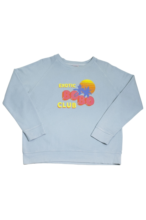 SWEAT-SHIRT PYLA BLEU CIEL
