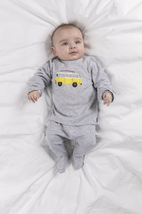 Pyjama Hippie gris